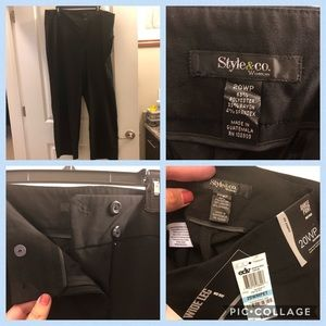 ❤️ Style & Co.-Curvy Fit Mid-Rise Ankle Pant-NWT